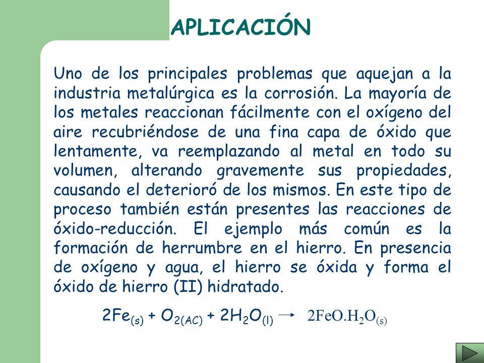 Cuando arde una mol de metano (CH 4 ) sucede una reacción de óxido-reducción que líbera más de 800[KJ] de energía. CH 4(g) + 2O 2(g) CO 2(g) + 2H 2 O