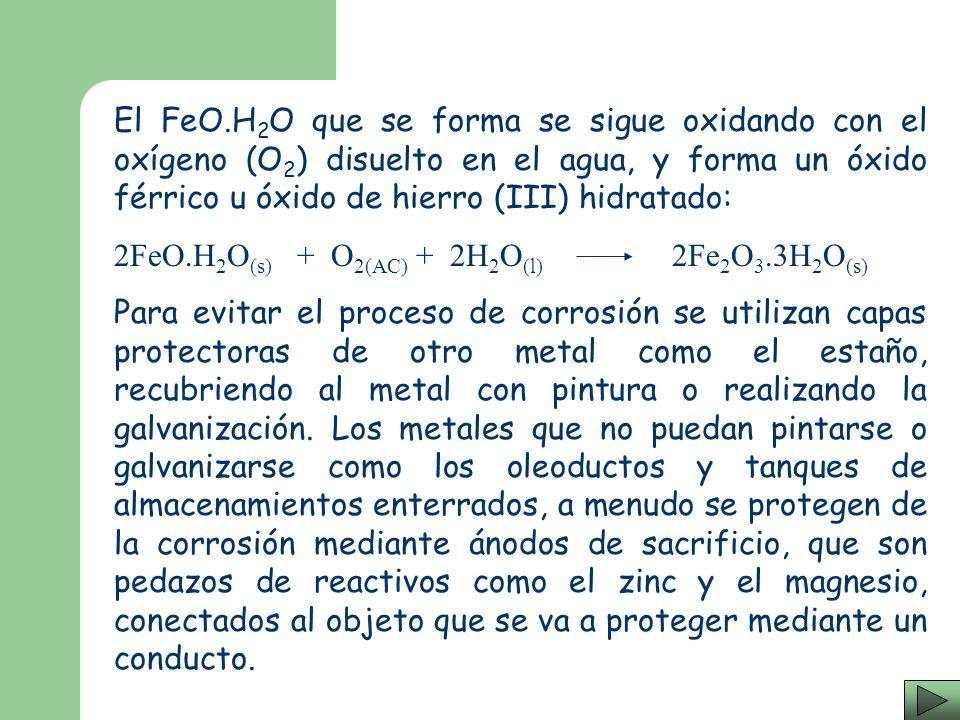 Uno de los principales problemas que aquejan a la industria metalúrgica es la corrosión. La mayoría de los metales reaccionan fácilmente con el oxígen