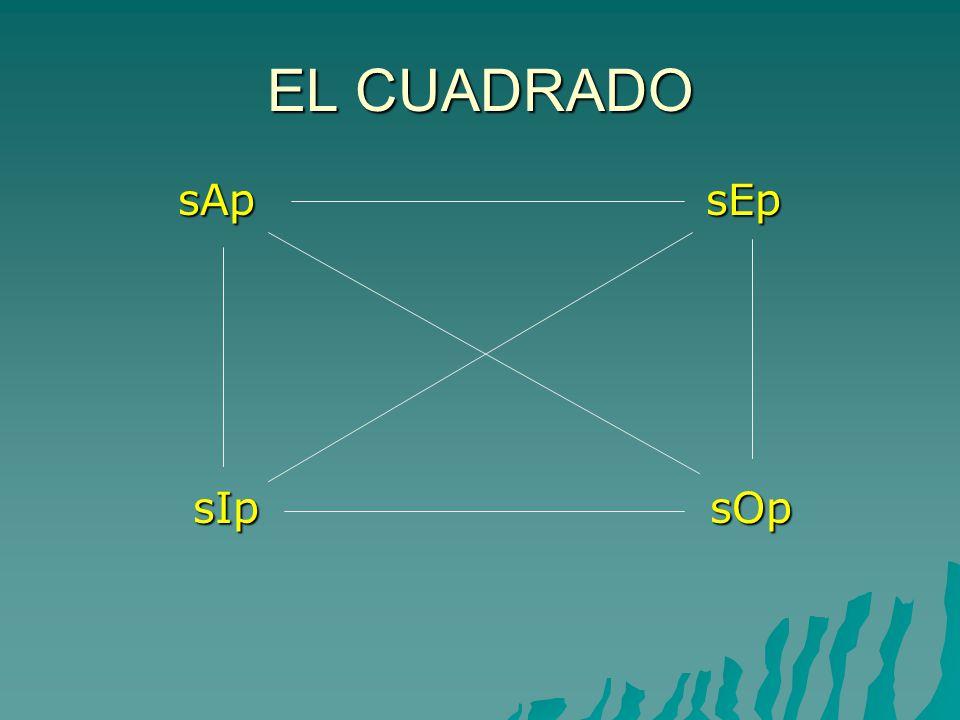 EL CUADRADO sAp sEp sAp sEp sIp sOp sIp sOp