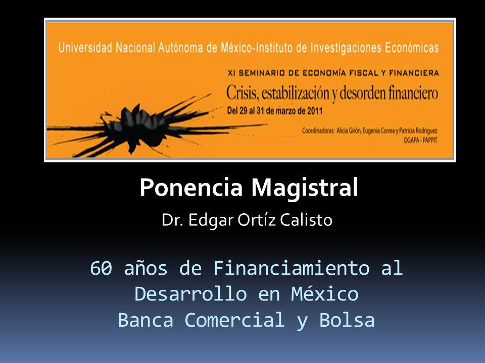 Rendimientos del PIB y de las bolsas de las economías latinoamericanas Brugger, S.I.