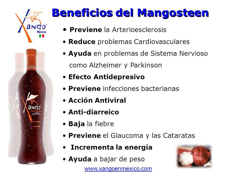 Previene la Arterioesclerosis Reduce problemas Cardiovasculares Ayuda en problemas de Sistema Nervioso como Alzheimer y Parkinson Efecto Antidepresivo
