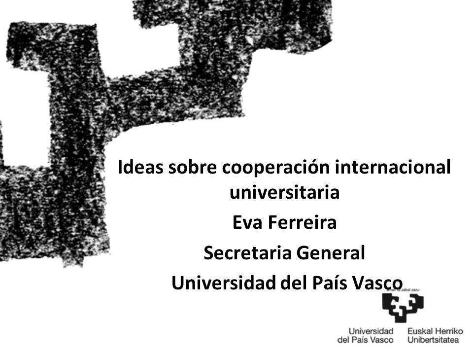 Universidades mexicanas que cooperan con la UPV/EHU UNIVERSIDAD NACIONAL AUTÓNOMA DE MEXICO UNIVERSIDAD DE MONTERREY, INSTITUTO TECNOLÓGICO SUPERIOR DE CAJEME LA ORGANIZACIÓN INTERNACIONAL PARA LAS MIGRACIONES UNIVERSIDAD MICHOACANA DE SAN NICOLÁS DE HIDALGO UNIVERSIDAD DE BAJA CALIFORNIA (MEXICO) UNIVERSIDAD IBEROAMERICANA CIUDAD DE MEXICO CENTRO DE INVESTIGACIONES BIOLÓGICAS DEL NOROESTE (MÉXICO) INSTITUTO SUPERIOR DE ARQUITECTURA Y DISEÑO DE CHIHUAHUA UNIVERSIDAD DE GUADALAJARA BENEMERITA UNIVERSIDAD AUTONOMA DE PUEBLA COLEGIO DE MEXICO, UNIVERSIDAD VERACRUZANA CENTRO DE DESARROLLO HUMANO DE GUANAJUATO UNIVERSIDAD AUTONOMA DEL ESTADO DE MEXICO Universidad Autónoma Metropolitana de Mexico UNIVERSIDAD DE GUANAJUATO