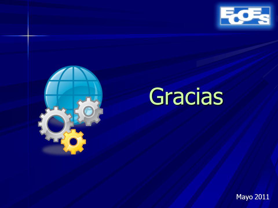 Gracias Mayo 2011