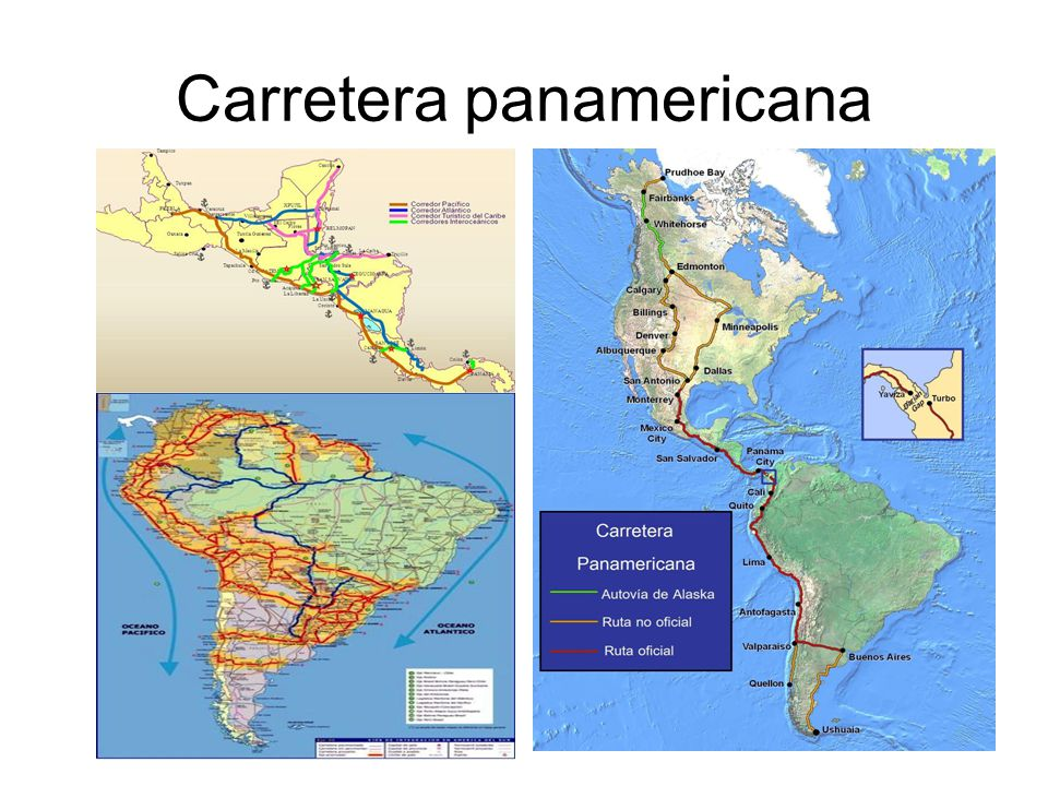 13 Carretera panamericana