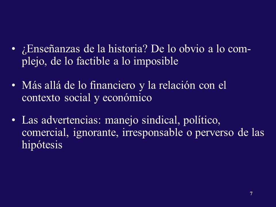 ¿Enseñanzas de la historia.