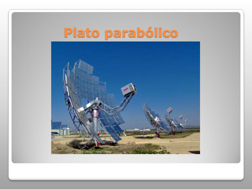 Plato parabólico