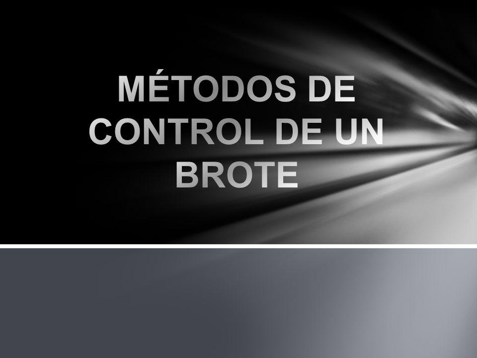 OBJETIVOS DE LOS MÉTODOS DE CONTROL EVACUAR AL BROTE CON SEGURIDAD RESTABLECER EL CONTROL PRIMARIO EVITAR BROTES ADICIONALES EVITAR EXCESO DE PRESIÓN EN SUPERFICIE Y FONDO DEL POZO A FIN DE NO INDUCIR UN REVENTÓN SUBTERRÁNEO