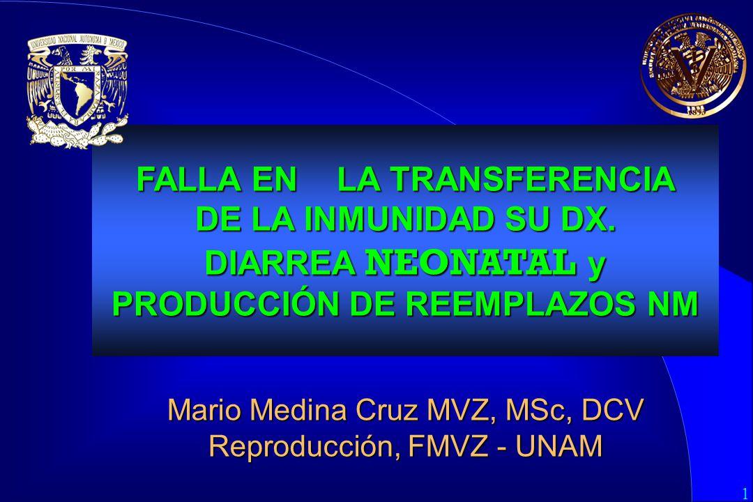 1 FALLA EN LA TRANSFERENCIA DE LA INMUNIDAD SU DX.