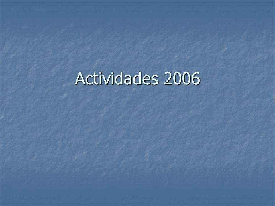 Actividades 2006