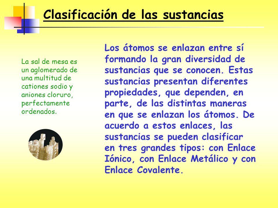 ¿Cuál es el mejor criterio para distinguir el carácter iónico, covalente o metálico en sustancias sólidas.