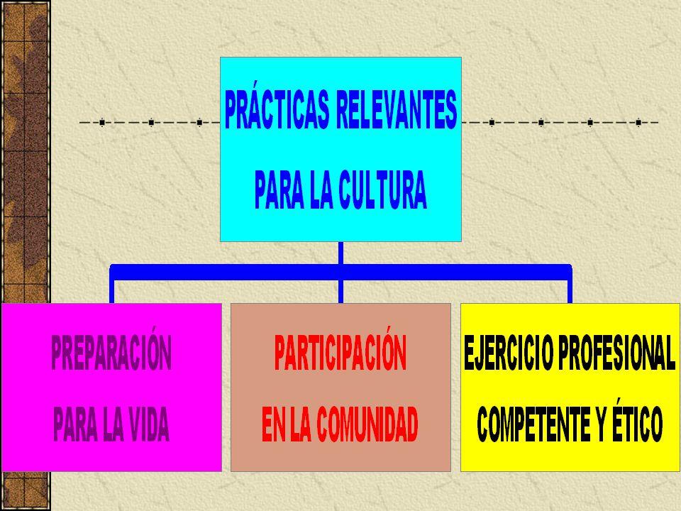 La autenticidad de una práctica educativa depende de: la grado de relevancia cultural de las actividades en que participa el estudiante el tipo y nivel de actividad social que éstas promueven (Derry, Levin y Schauble, 1995).