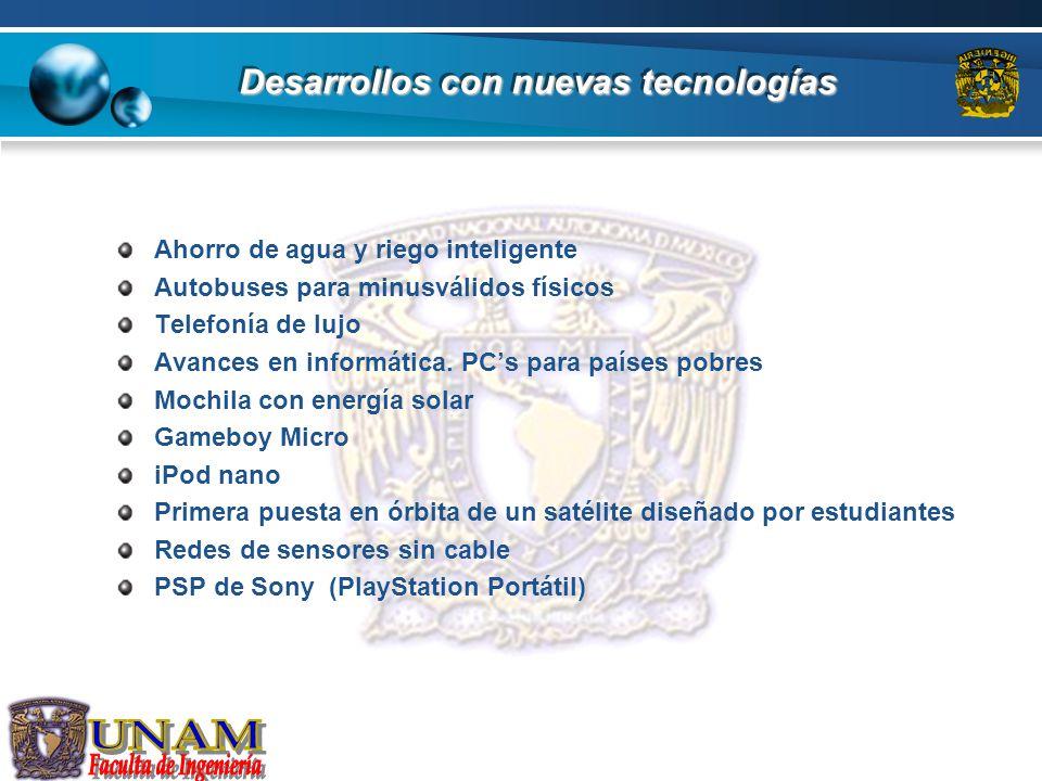 Tipos de tendencias tecnológicas Ingeniería industrial Biotecnología Las telecomunicaciones.