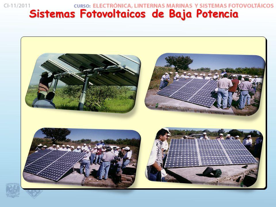 Sistemas Fotovoltaicos de Baja Potencia