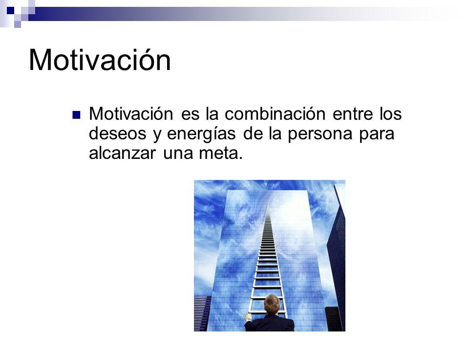 Motivación Significados: A nivel personal: La palabra motivación proviene de motivo, que significa la causa de algo, o que mueve o tiene eficacia o virtud para mover algo.