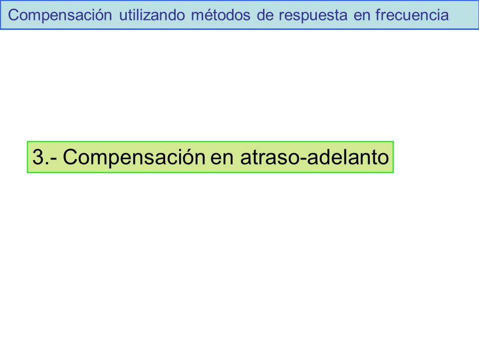 3.- Compensación en atraso-adelanto