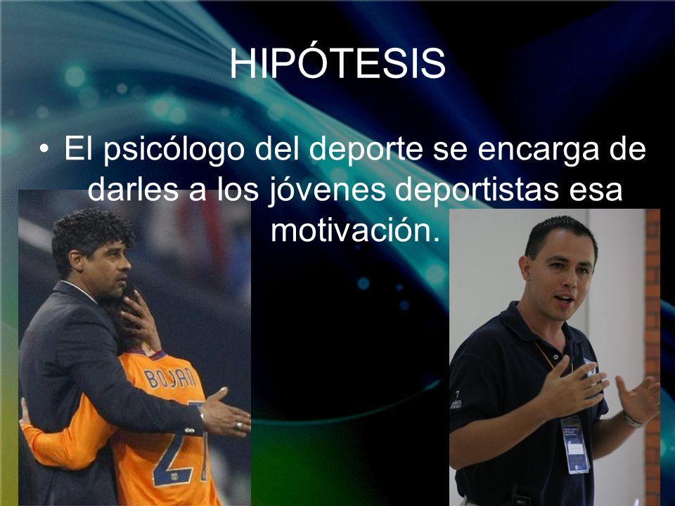 Hacer una investigación sobre la psicología del deporte intentando resolver las siguientes cuestiones: A que se dedica un psicólogo del deporte.