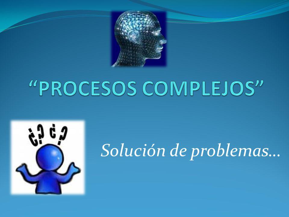 Solucion de Problemas.