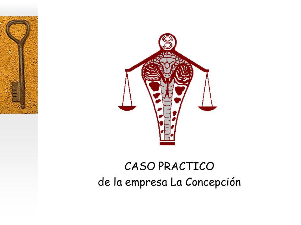 CASO PRACTICO de la empresa La Concepción