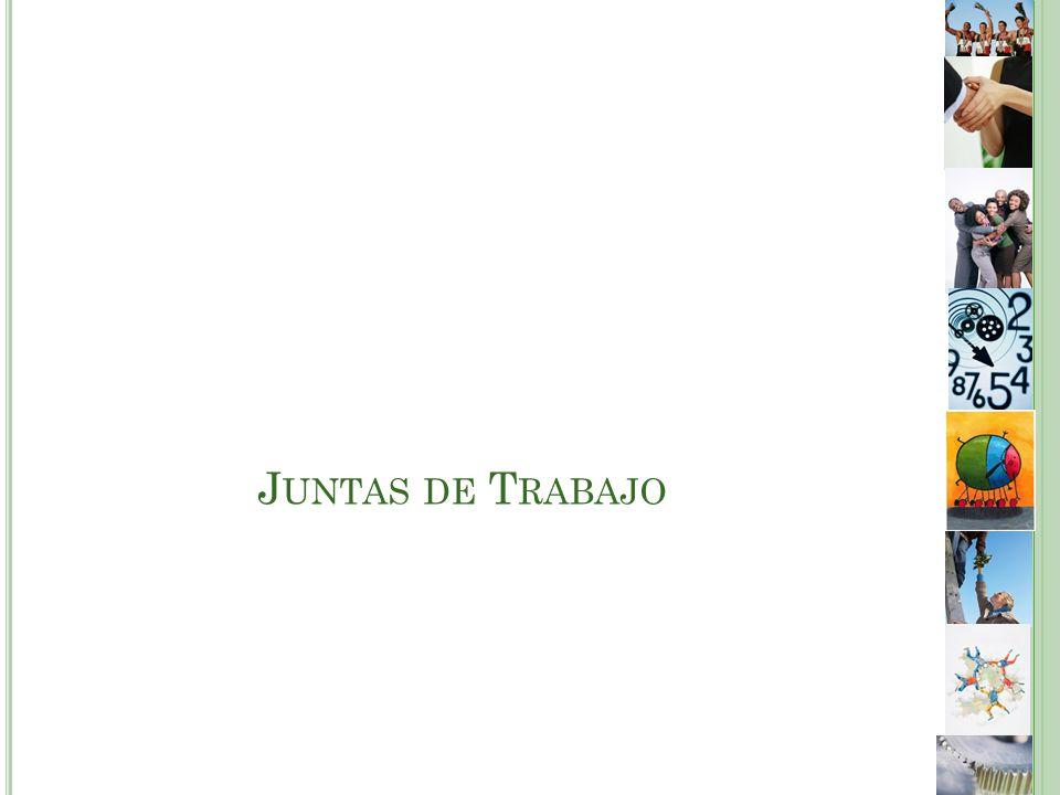 J UNTAS DE T RABAJO