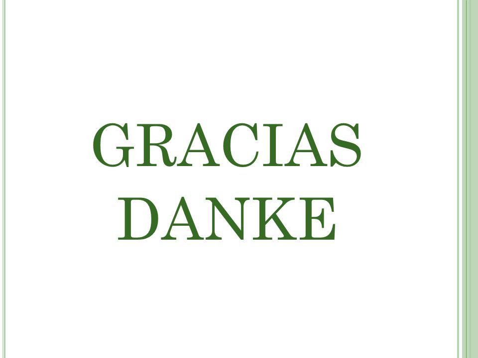 GRACIAS DANKE