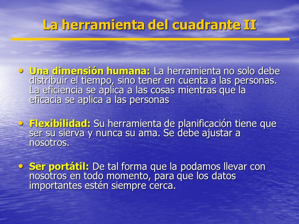 Una dimensión humana: La herramienta no solo debe distribuir el tiempo, sino tener en cuenta a las personas. La eficiencia se aplica a las cosas mient