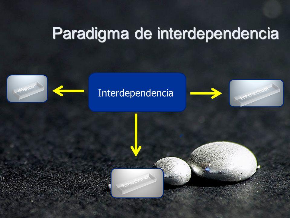 Paradigma de interdependencia Interdependencia