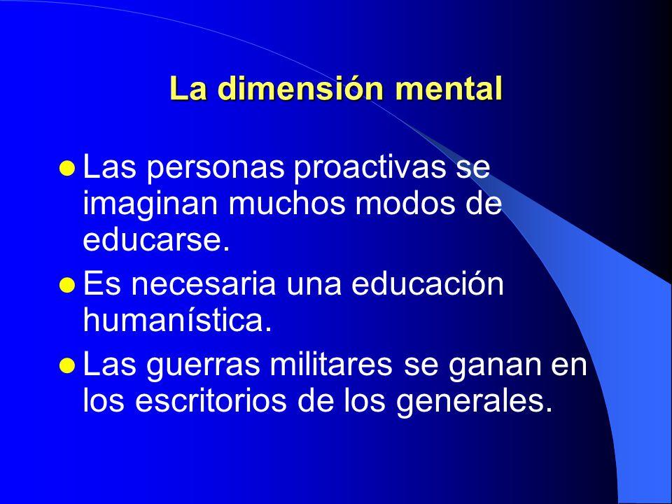 Las cuatro dimensiones básicas de la vida Física EspiritualEmocional Mental