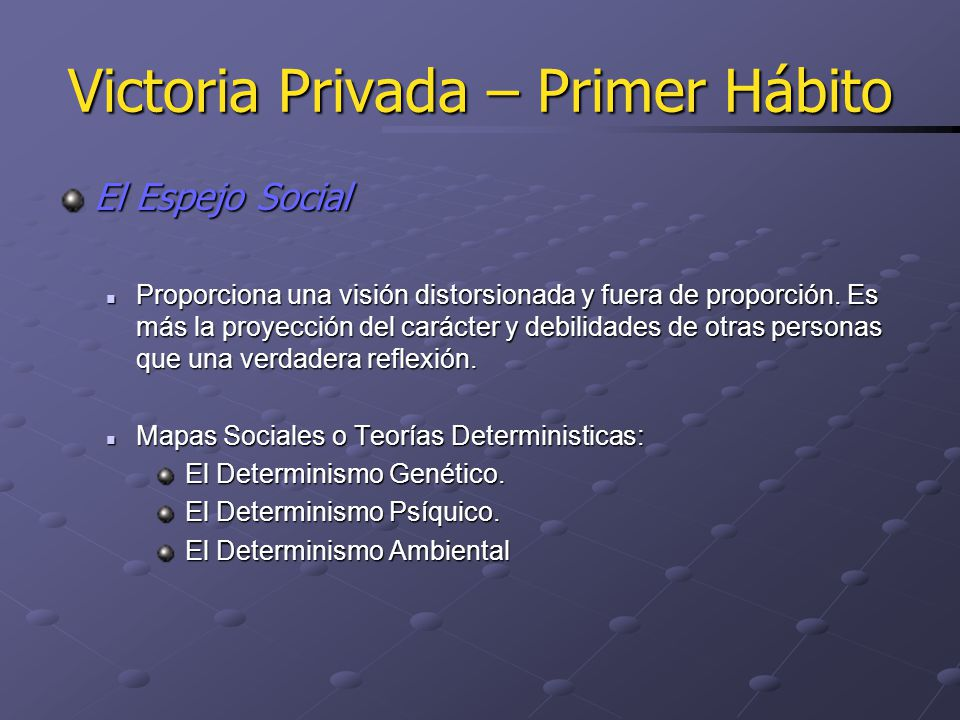 Victoria Privada – Tercer Hábito La Organización del cuadrante II implica cuatro Actividades Clave A.
