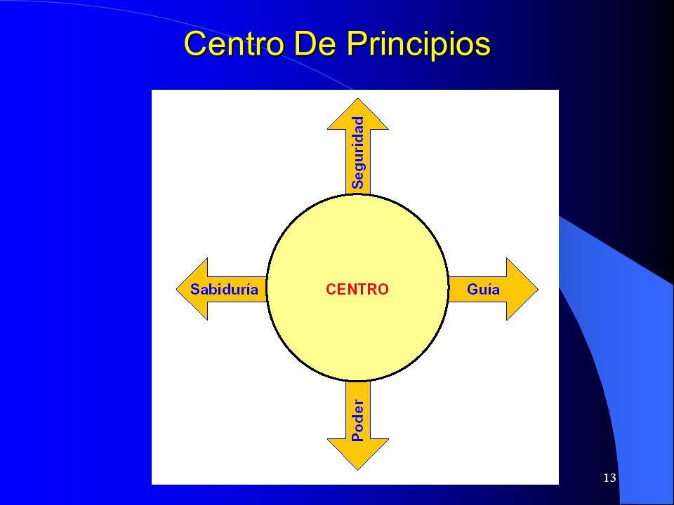 13 Centro De Principios