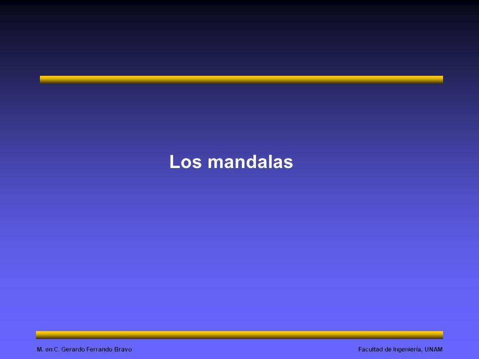 Facultad de Ingeniería, UNAMM. en C. Gerardo Ferrando Bravo Los mandalas
