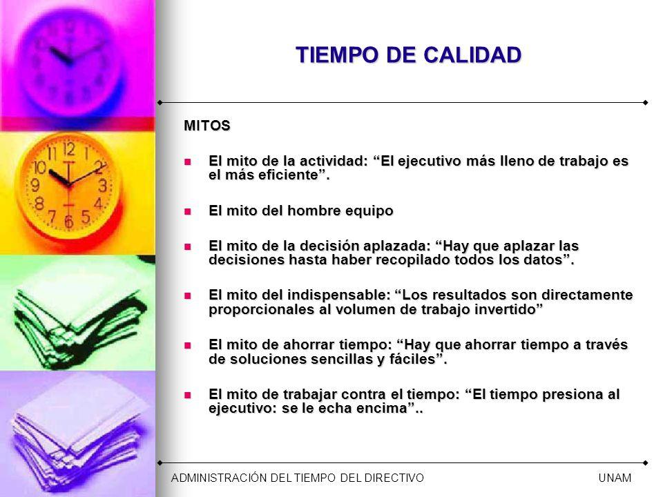 CUATRO GENERACIONES DE LA ADMINISTRACIÓN DEL TIEMPO Tercero.