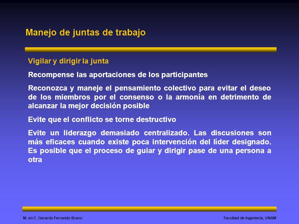 Facultad de Ingeniería, UNAMM. en C.