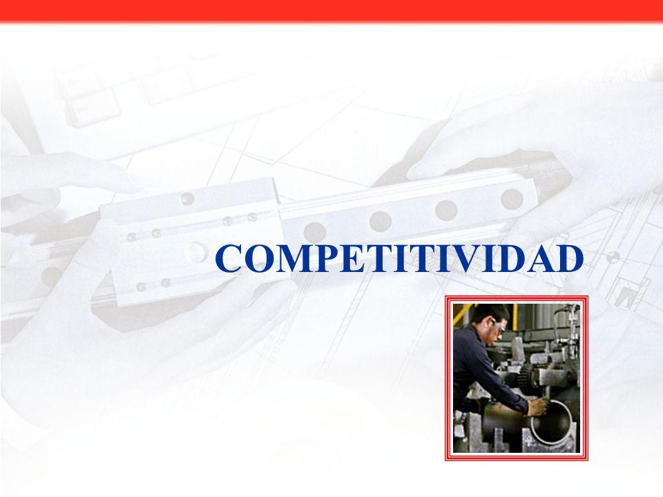 BENEFICIOS PARA EL SECTOR PRODUCTIVO Mayor competitividad.