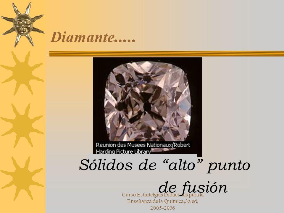 Curso Estratetgias Didácticas para la Enseñanza de la Química,3a ed, 2005-2006 Diamante.....