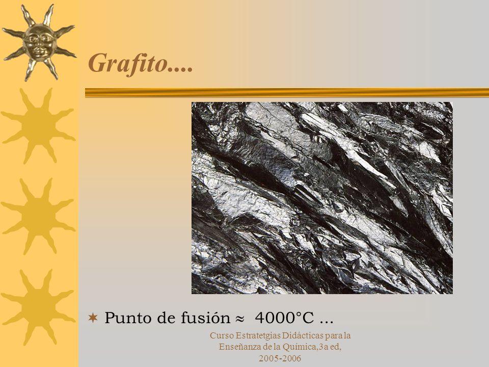 Curso Estratetgias Didácticas para la Enseñanza de la Química,3a ed, 2005-2006 Grafito....