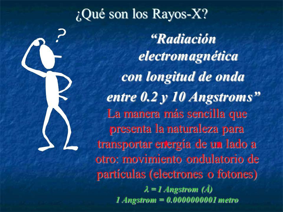 ¿Qué son los Rayos-X.