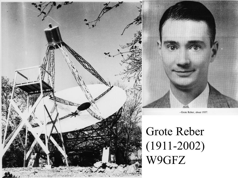 Grote Reber (1911-2002) W9GFZ