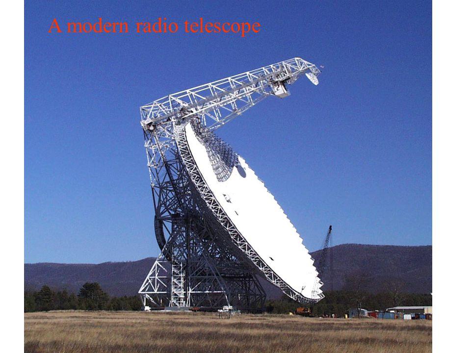 A modern radio telescope