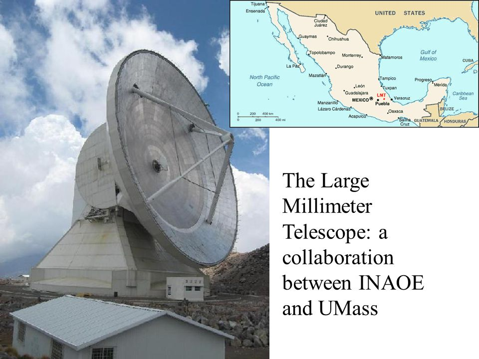 The Large Millimeter Telescope: a collaboration between INAOE and UMass