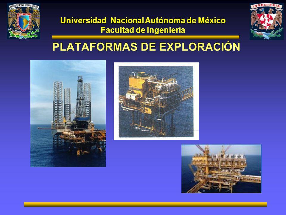 Universidad Nacional Autónoma de México Facultad de Ingeniería PLATAFORMAS DE EXPLORACIÓN