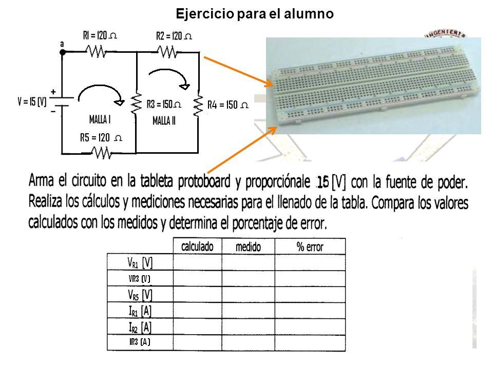Resistencia Eléctrica En una resistencia siempre la corriente va del punto de alto voltaje (+) al punto de menor voltaje (-), esto significa que la resistencia es siempre un elemento pasivo.