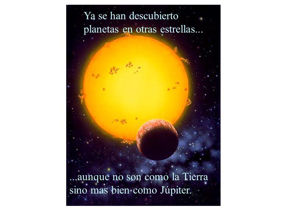 ...aunque no son como la Tierra sino mas bien como Júpiter.