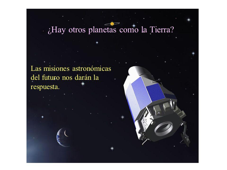 Las misiones astronómicas del futuro nos darán la respuesta. ¿Hay otros planetas como la Tierra?
