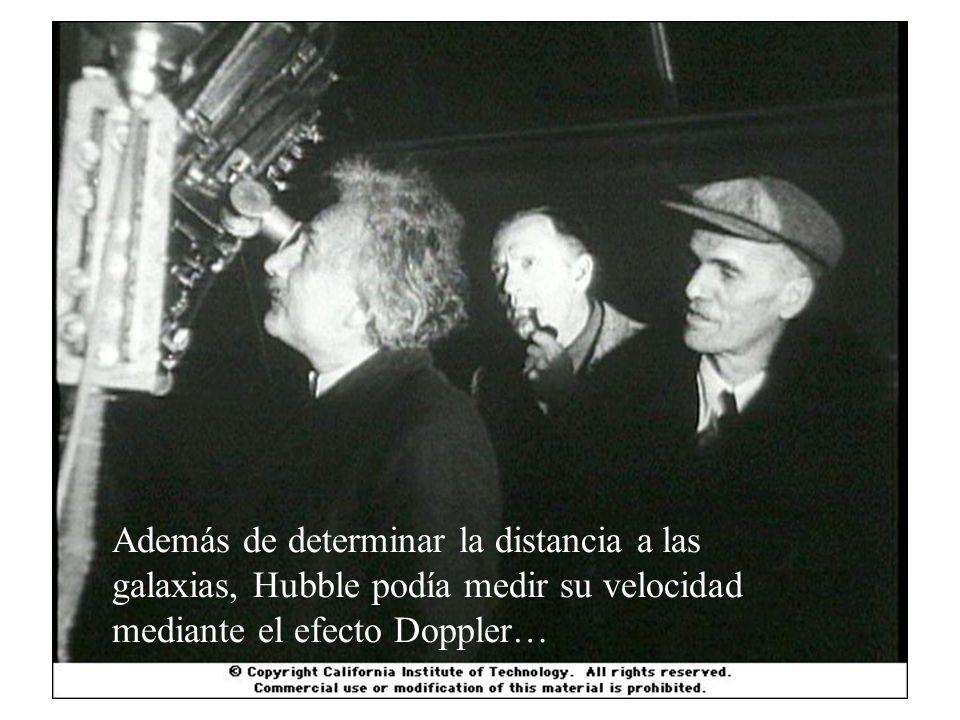 En los años 1920´s, el astrónomo estadunidense Edwin Hubble comenzó a estudiar las galaxias, habiendo él mismo establecido antes que eran islas-univer