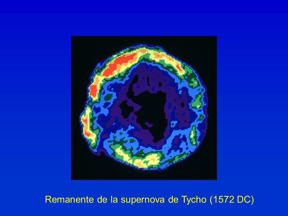 Remanente de la supernova de Tycho (1572 DC)