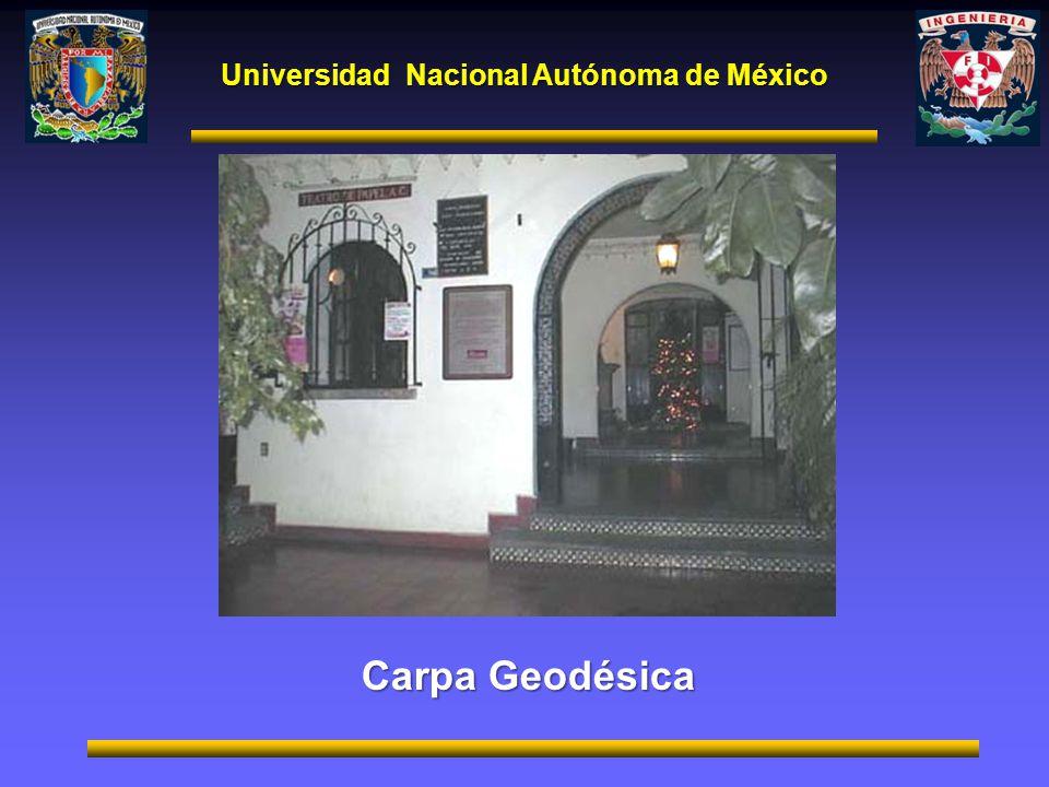 Universidad Nacional Autónoma de México Carpa Geodésica