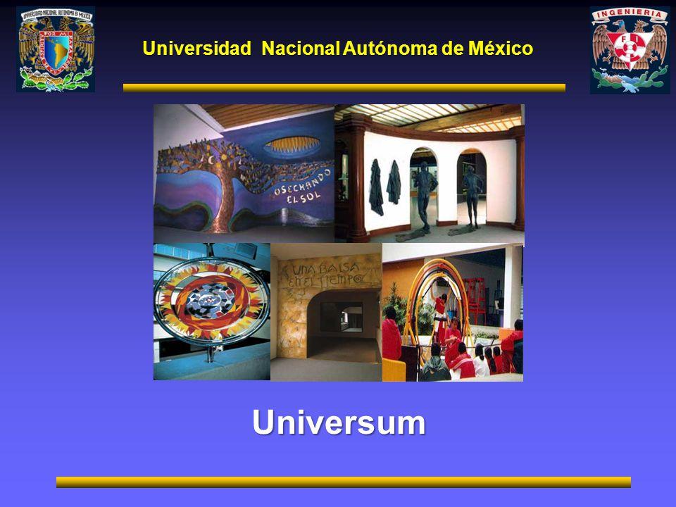 Universidad Nacional Autónoma de México Universum