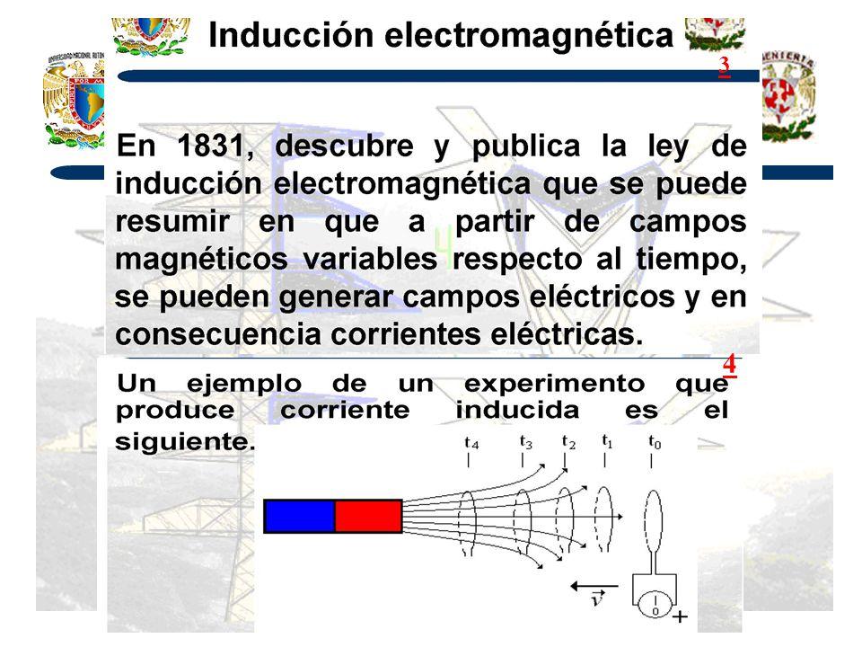 La Ley de Faraday en Forma Integral – El Campo Eléctrico Inducido Un nuevo tipo de E.