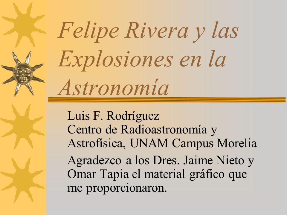 Introducción La noche del 21 de febrero de 1901, el Licenciado Felipe Rivera, vecino de Zinapécuaro, descubrió una nueva estrella en el cielo...