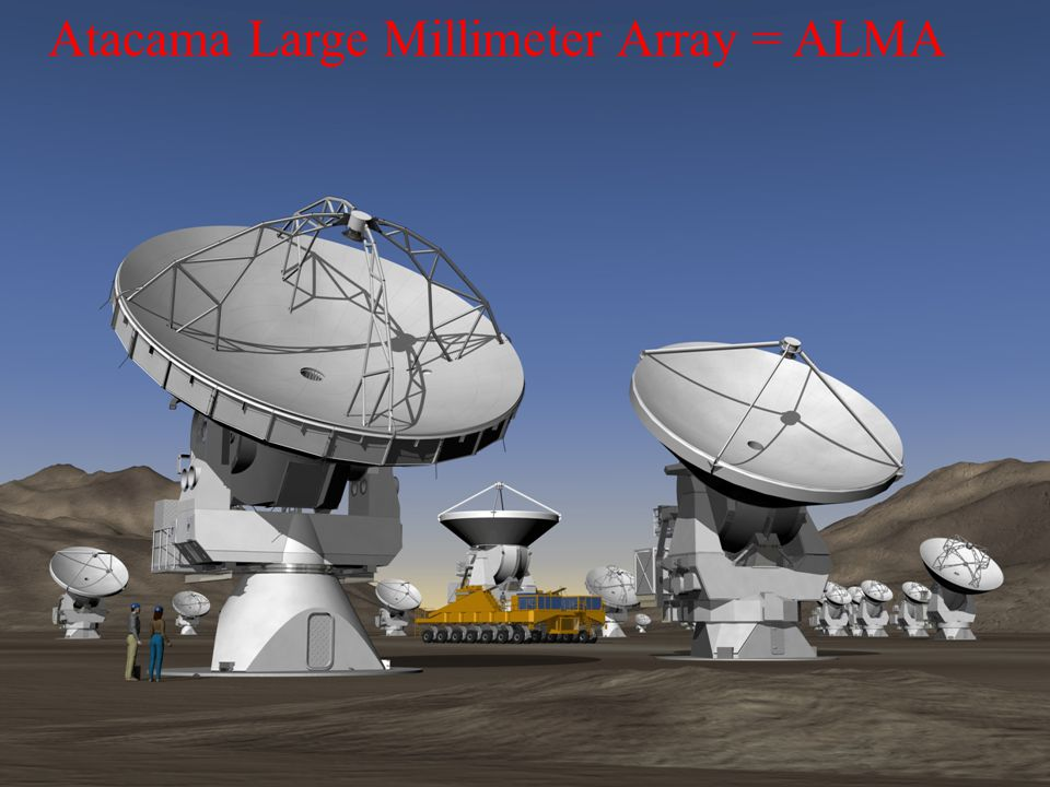 Atacama Large Millimeter Array = ALMA